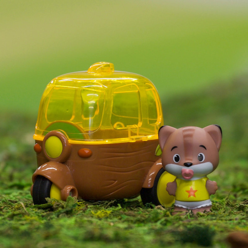 Fat Brain Toy Co Timber Tots Side Car