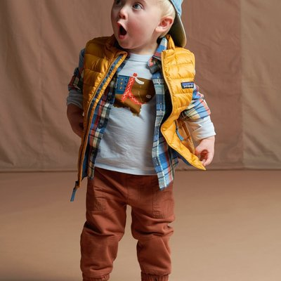 Tea Collection Baby Woven Patch Pocket Joggers