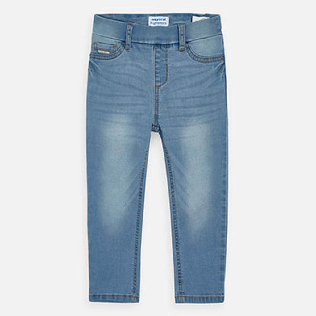 Mayoral USA Bleached Basic Denim Pants