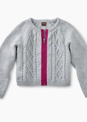 Tea Collection Donegal Cable Zip Cardigan
