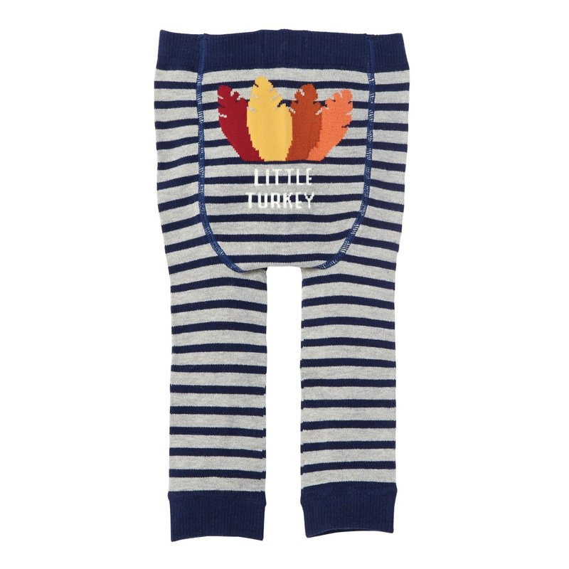 Mud Pie Blue Turkey Pants