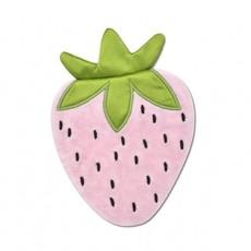 Apple Park Mini Strawberry Crinkle Blankie