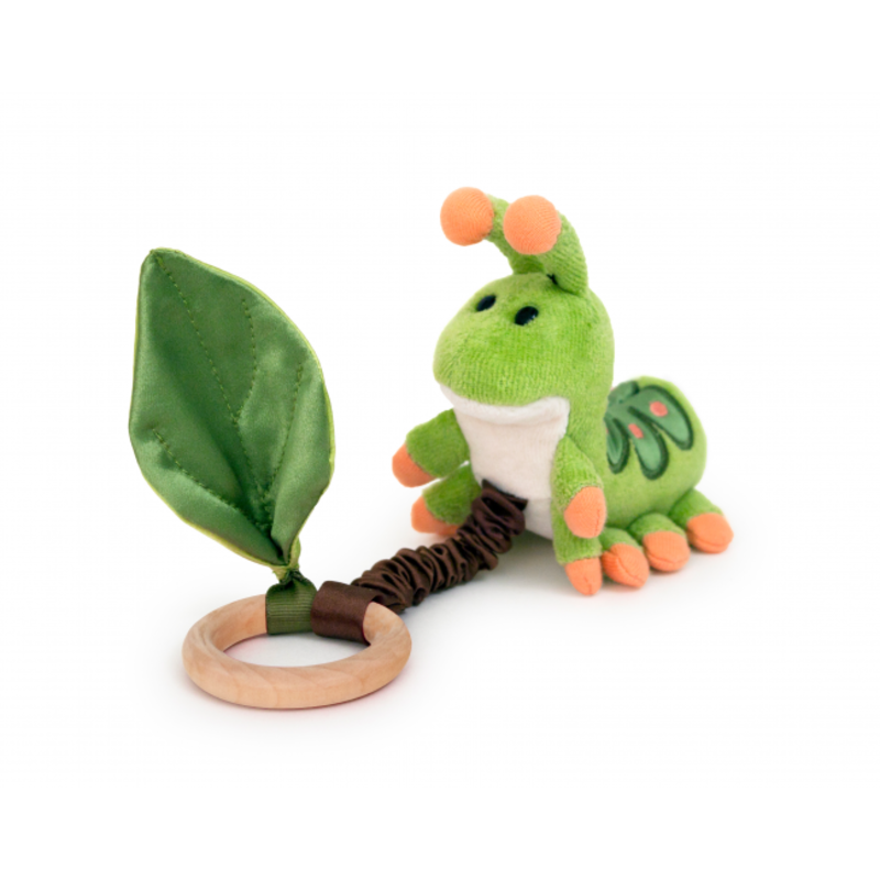Apple Park Catepillar Teething Toy