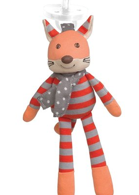 Apple Park Frenchy Fox Pacifier Buddy