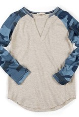 Appaman Camo Cloud Baseball Tee