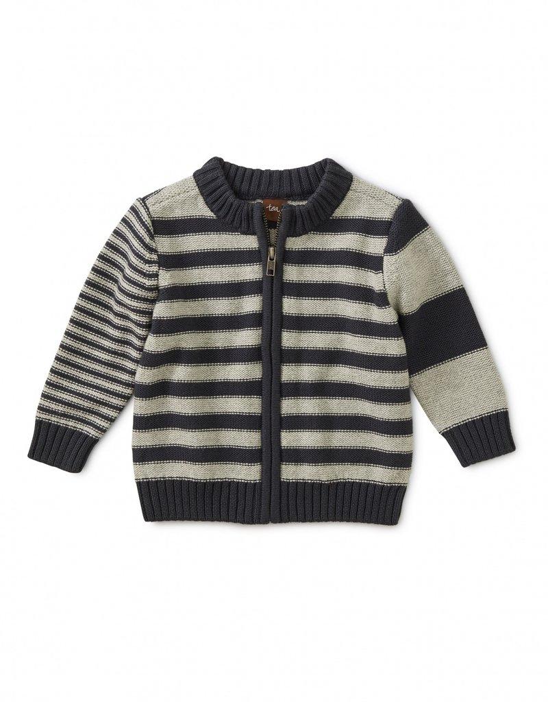 Tea Collection Trekking Stripe Baby Zip Cardi