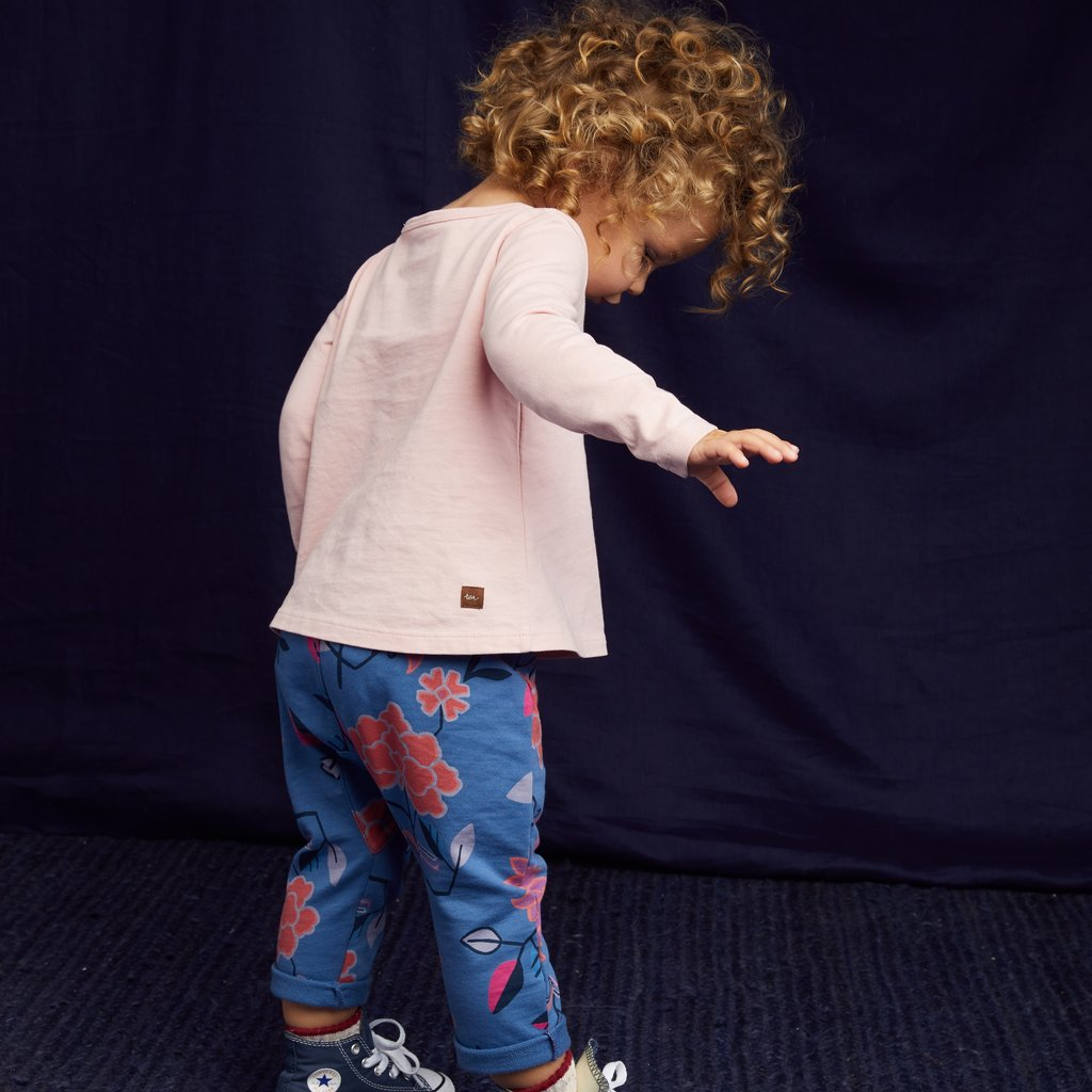 Tea Collection Printed Knit Baby Pant
