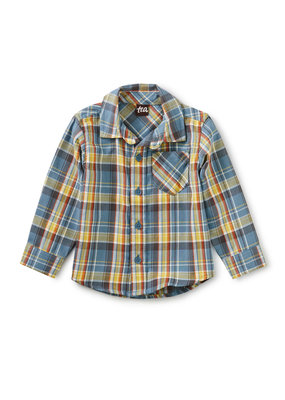 Tea Collection Plaid Baby Shirt