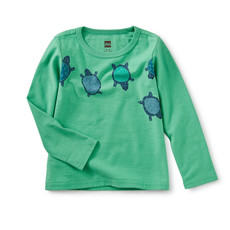 Tea Collection Totally Turtle Graphic Tee