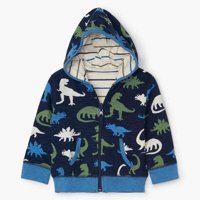 Hatley Dino Silhouettes Reversible Hoodie