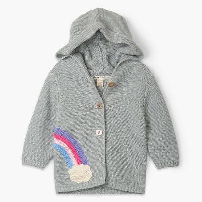 Hatley Shimmer Grey Sweater