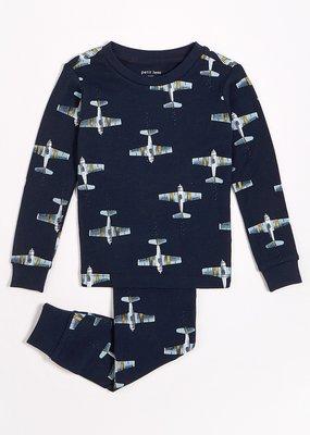 Petit lem Planes Pajama Set