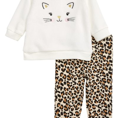 Little Me Kitty 2PC Toddler Set
