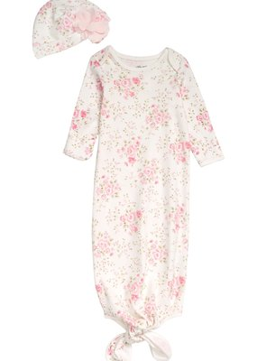 Little Me Blossom Gown and Hat