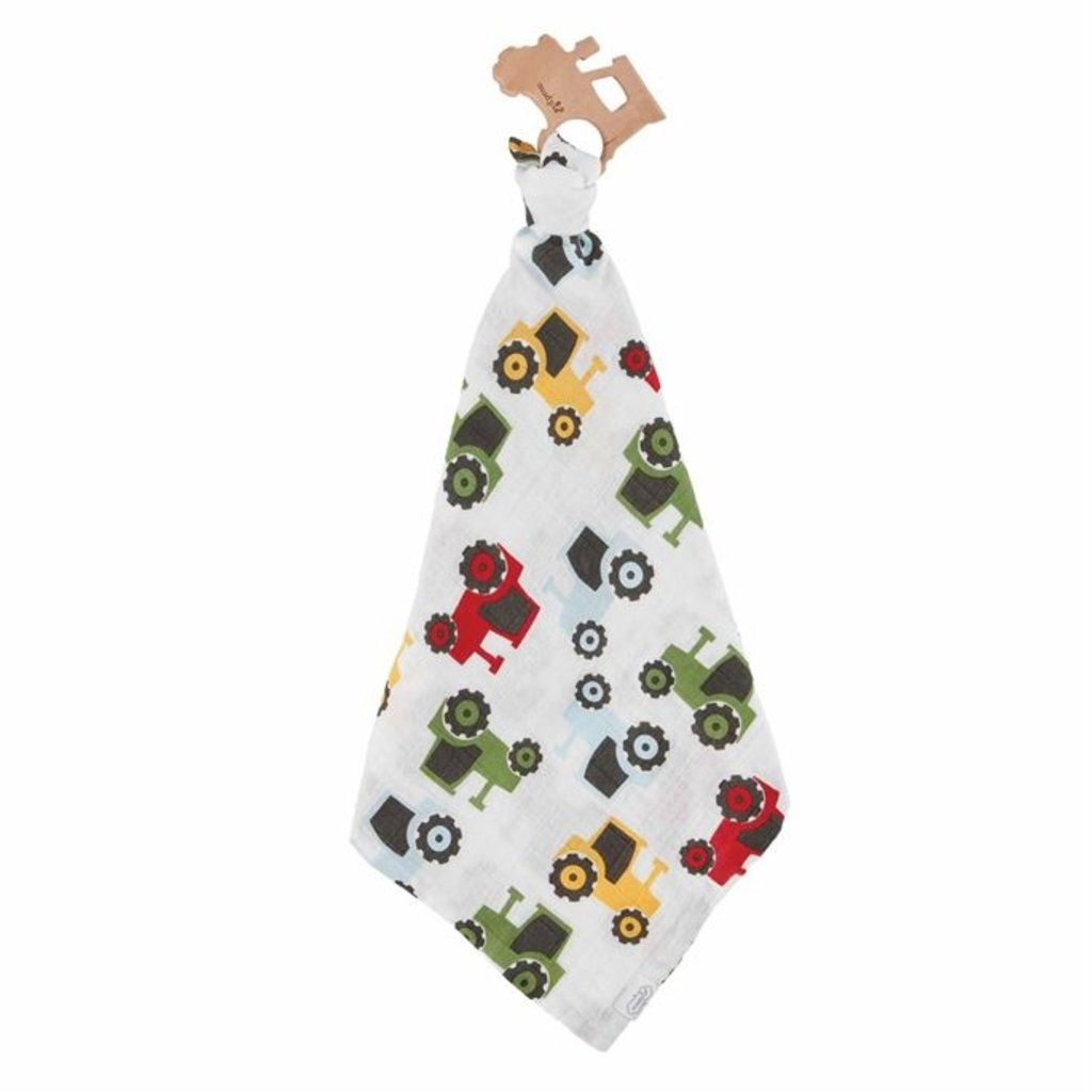 Mud Pie Tractor Teether and Cuddler