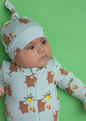 Angel Dear Baby Bears Zipper Footie