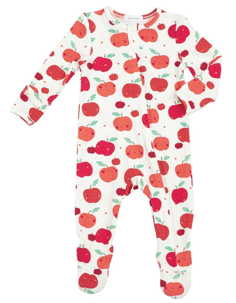 Angel Dear Apple Orchard Zipper Footie