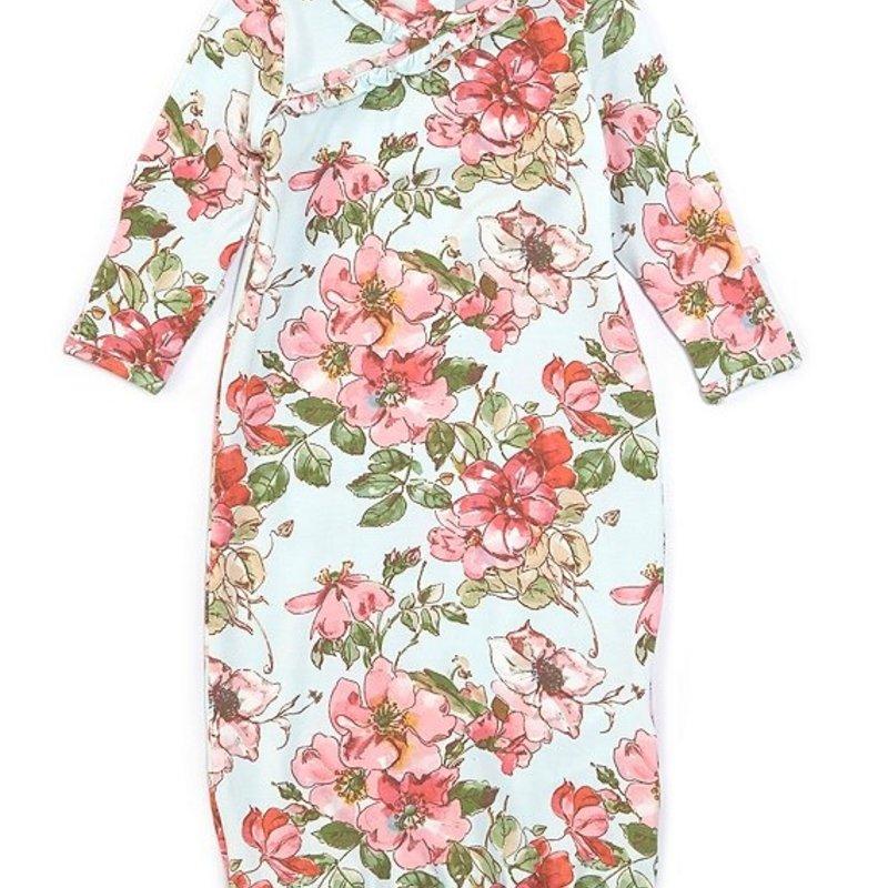 Angel Dear Woodrose Kimono Gown and Hat