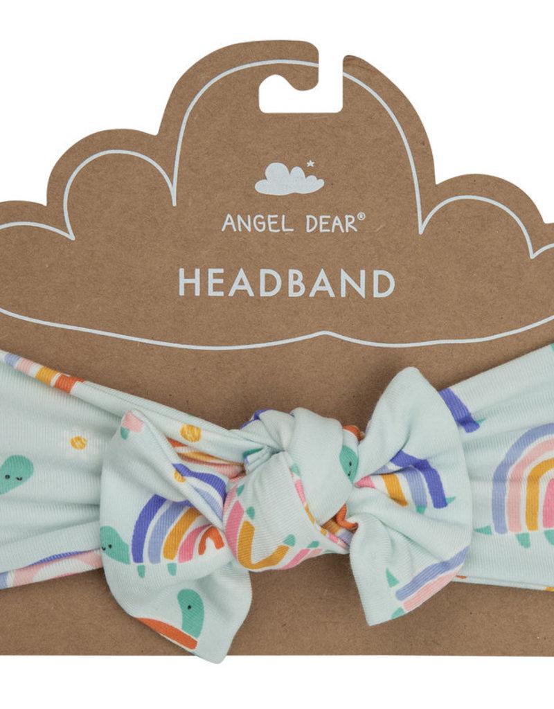 Angel Dear Rainbow Turtles Headband