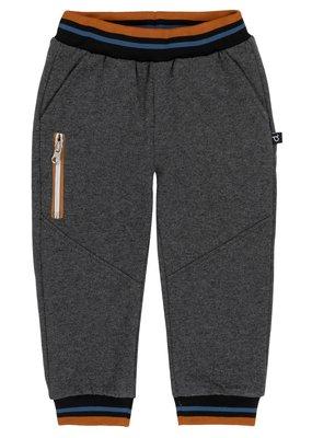 Deux Par Deux French Terry Sweatpants Single Pocket Zipper