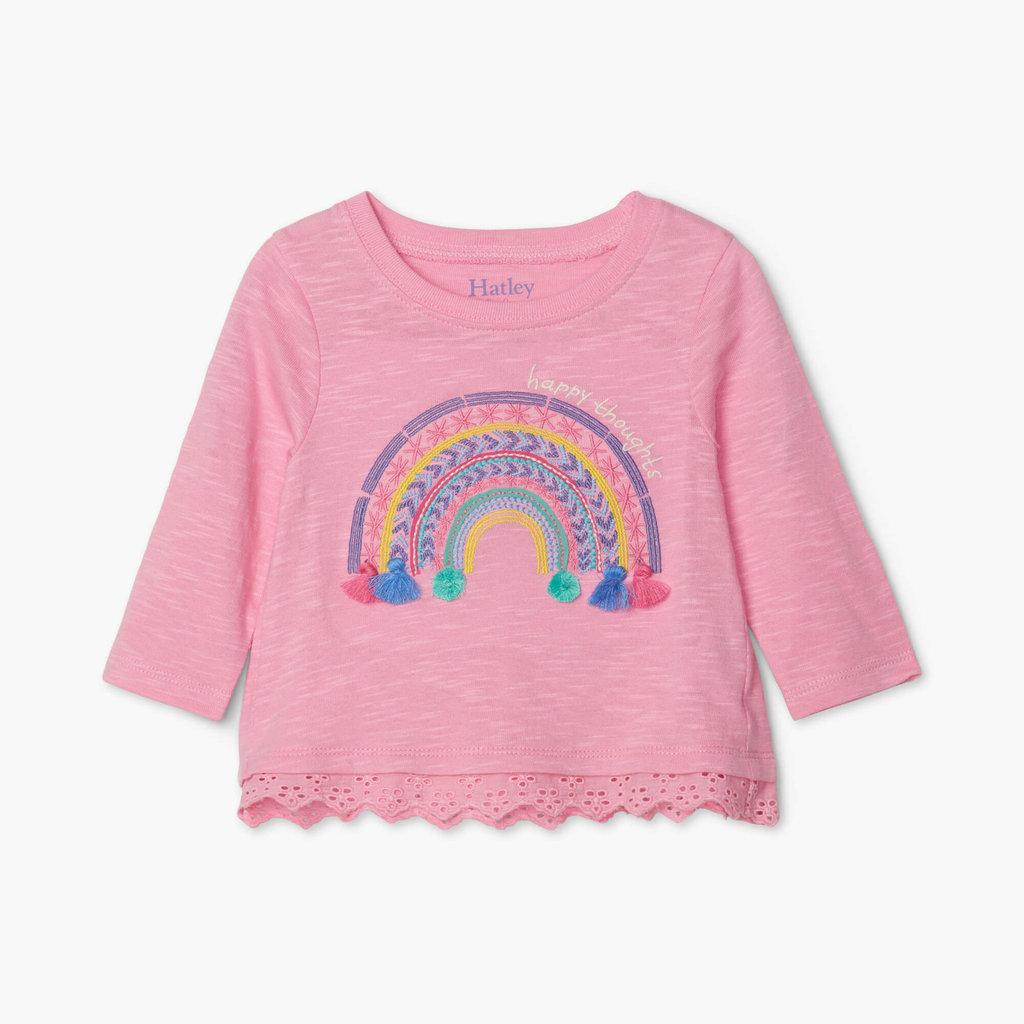 Hatley Delightful Rainbow Baby Tee