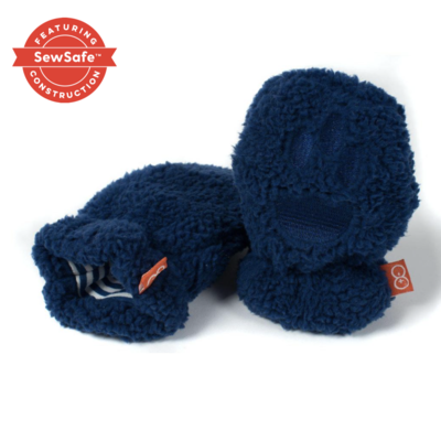 Magnificent Baby Blueberry Bears Fleece Mittens