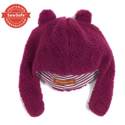Magnificent Baby Raspberry Bears Fleece Hat