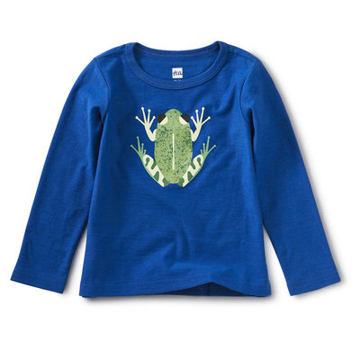 Tea Collection Cloud Forest Frog Graphic Tee