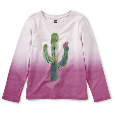 Tea Collection Prickly Dip-Dye Graphic Tee