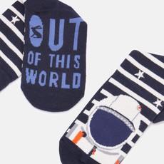 Joules Navy Astronaut Socks