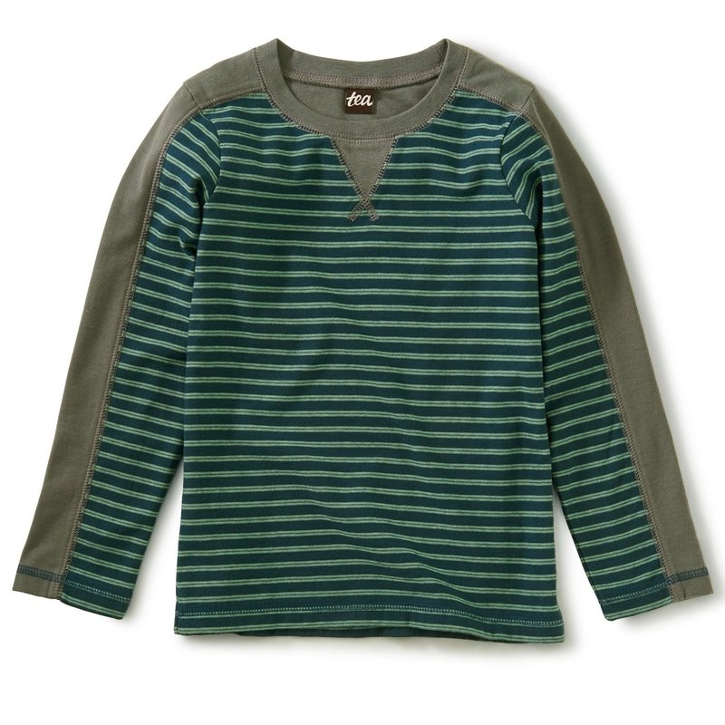 Tea Collection Striped Sporty Top