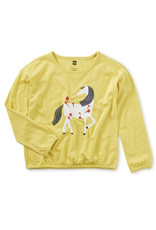 Tea Collection Horse Graphic Top