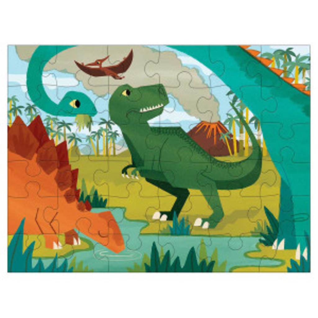 Chronicle Books/Hachette Book Group USA Dinosaur Park Puzzle To Go