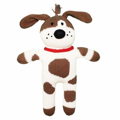 "Zubels Spot the Dog 12"" Knit Doll"