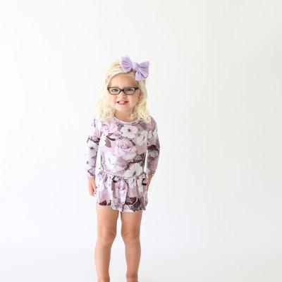 Posh Peanut Nikki Long Sleeve Twirl Skirt Bodysuit