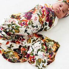 Posh Peanut Corinne Infant Swaddle and Headwrap