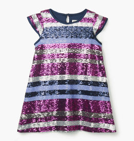Hatley Sequin Stripe Party Dress