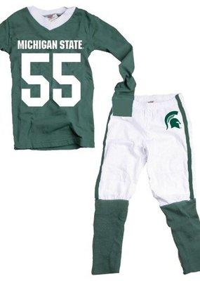 Wes and Willy MSU Football Pajamas