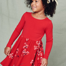 Tea Collection Ruby Ballet Skirted Dress