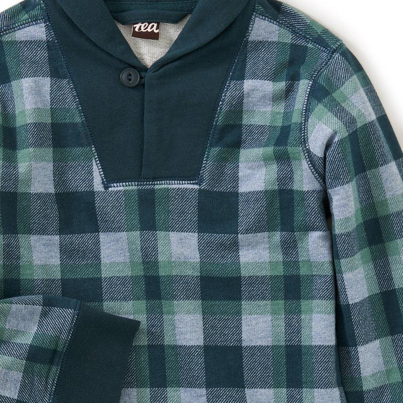 Tea Collection Shawl Collar Pullover