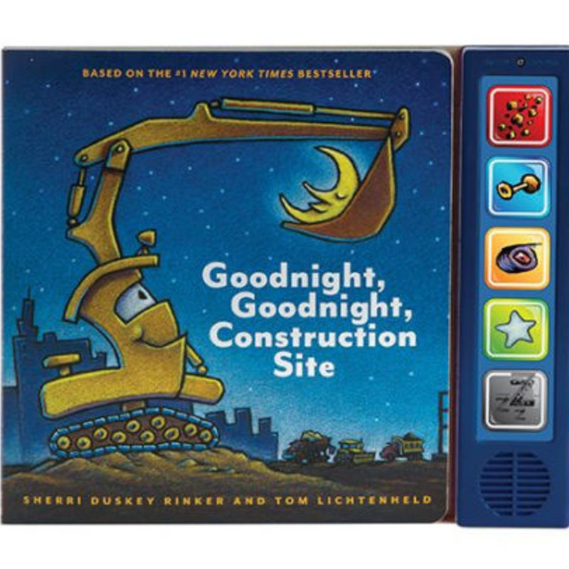 Chronicle Books/Hachette Book Group USA Good Night Construction Site Sound Book