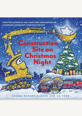 Chronicle Books/Hachette Book Group USA Construction Site on Christmas Night