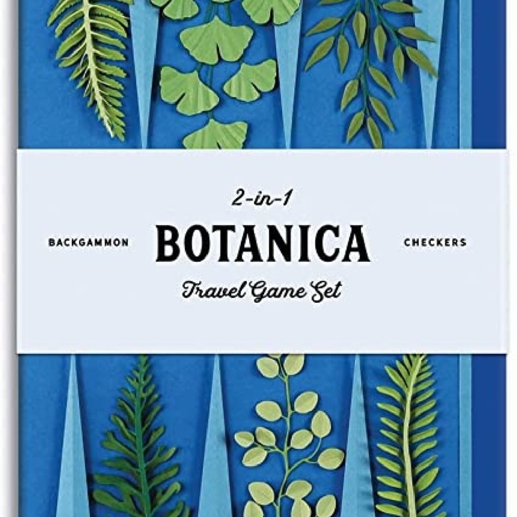 Chronicle Books/Hachette Book Group USA Botanica 2 in 1 Travel Game Set