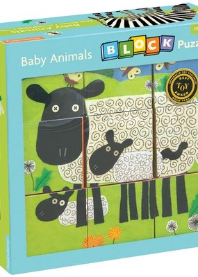 Chronicle Books/Hachette Book Group USA Baby Animal Block Puzzle