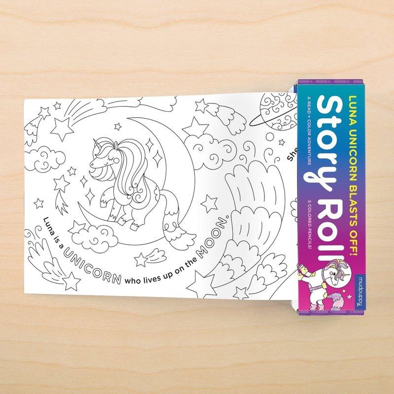 Chronicle Books/Hachette Book Group USA Luna Unicorn Blasts off Story Roll