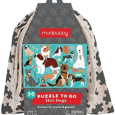 Chronicle Books/Hachette Book Group USA Hot Dog Puzzle To Go