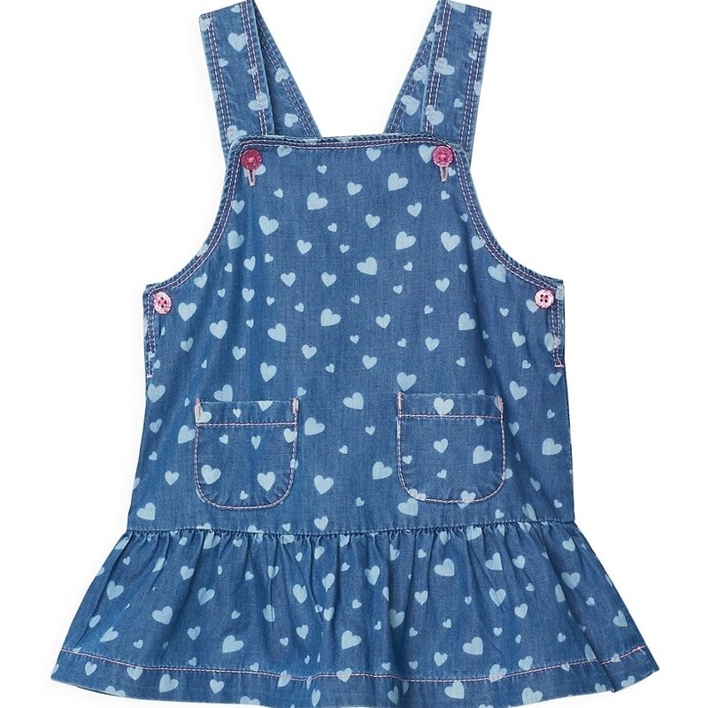 Hatley Heart Cluster Pinafore Dress