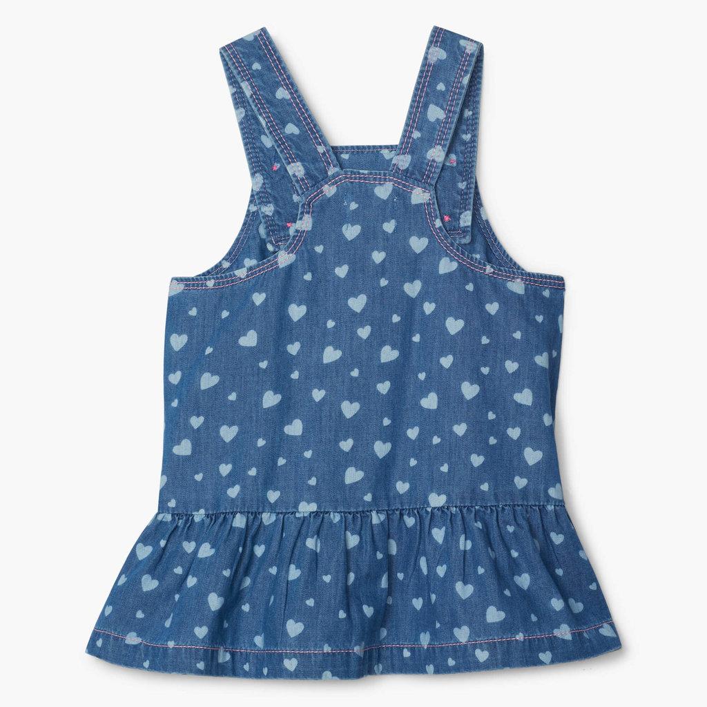Hatley Heart Cluster Pinafore Dress