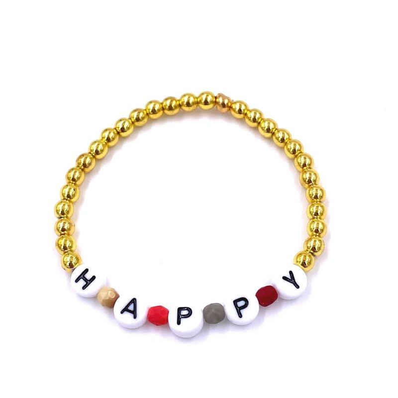 Ashley Gold Adult Stackable Bracelets