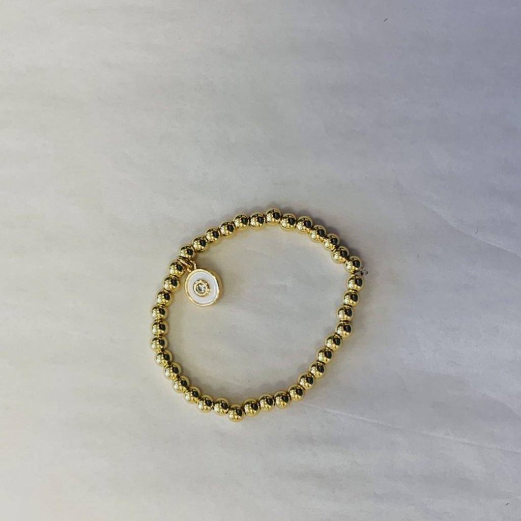 Ashley Gold Adult Designer Stackable Bracelets
